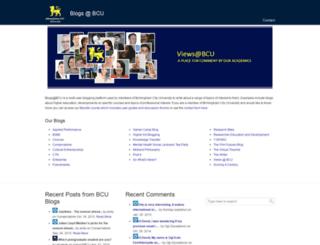 blogt.bcu.ac.uk screenshot