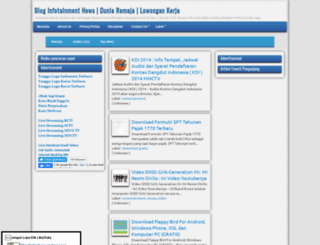 blogtainmentnews.blogspot.com screenshot