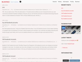 blogtecz.com screenshot