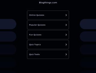 blogthings.com screenshot