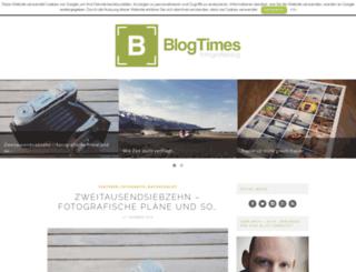 blogtimes.info screenshot