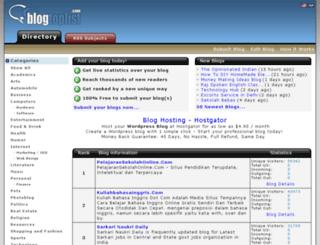 blogtoplist.com screenshot