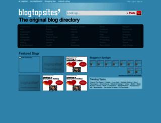blogtopsites.com screenshot
