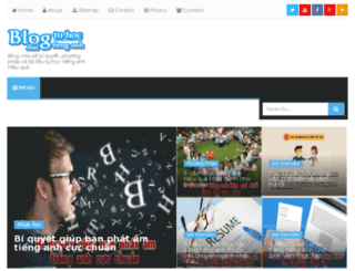 blogtuhoctienganh.com screenshot