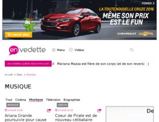 blogue.enmusique.ca screenshot
