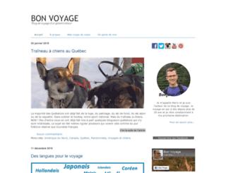 bloguebonvoyage.com screenshot
