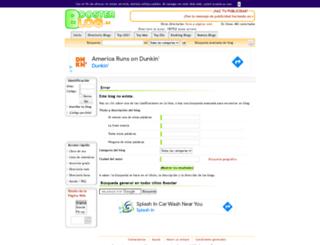 blogueraenaccion.boosterblog.es screenshot