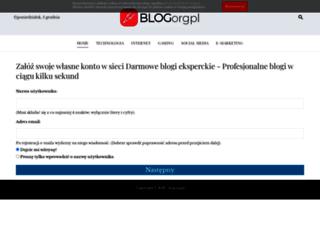 blogujesobie.blog.org.pl screenshot