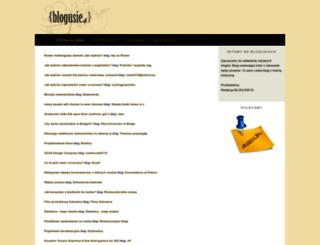 blogusie.pl screenshot