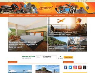 blogvambora.com.br screenshot