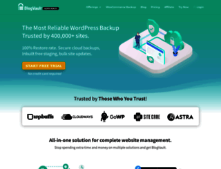 blogvault.net screenshot