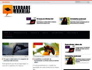 blogverdademundial.blogspot.com screenshot