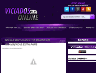 blogviciadoson.blogspot.com.br screenshot
