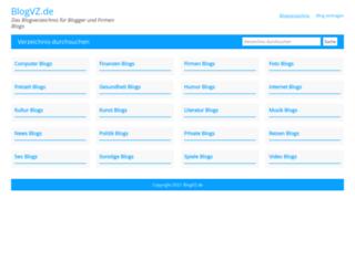 blogvz.de screenshot