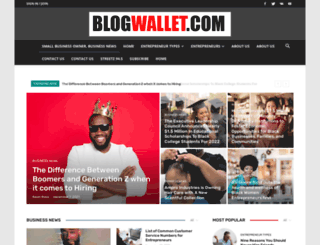 blogwallet.com screenshot