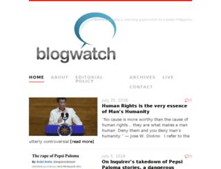 blogwatch.ph screenshot