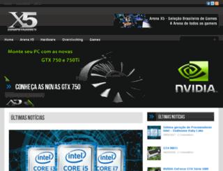 blogx5computadores.com.br screenshot