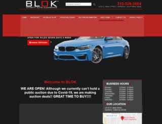 blokauto.com screenshot