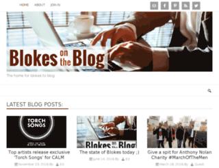blokesontheblog.co.uk screenshot