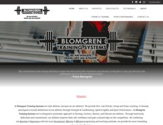blomgrentraining.com screenshot