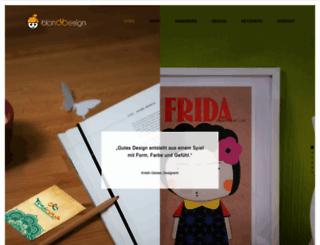 blonddesign.de screenshot
