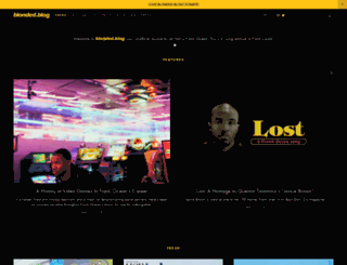 blonded.blog screenshot