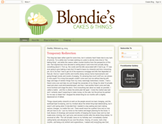 blondiescakes.blogspot.co.uk screenshot