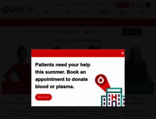 blood.ca screenshot