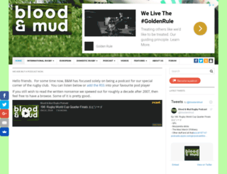 bloodandmud.com screenshot