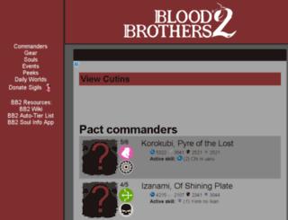 bloodbrothers2.info screenshot