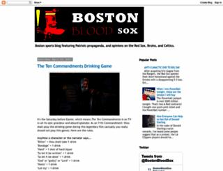 bloodsox.blogspot.com screenshot