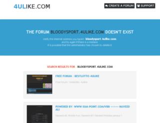 bloodysport.4ulike.com screenshot