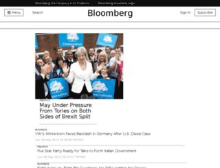 bloomberg.co.uk screenshot