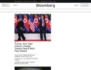 bloomberg.de screenshot