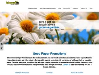 bloomin.com screenshot