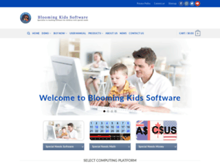 bloomingkids.com screenshot