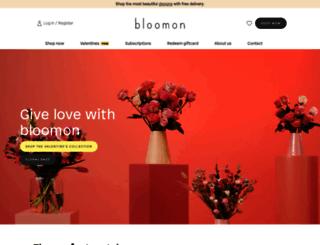 bloomon.co.uk screenshot