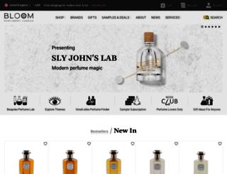 bloomperfume.co.uk screenshot