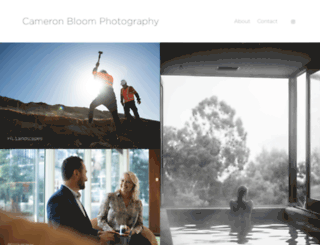 bloomphotography.com screenshot