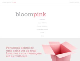 bloompink.com screenshot