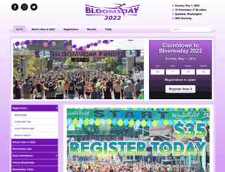 bloomsdayrun.org screenshot