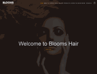 bloomshair.co.uk screenshot