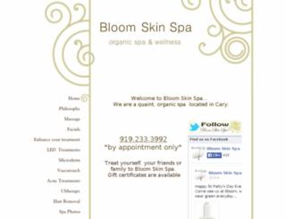 bloomskinspaonline.vpweb.com screenshot