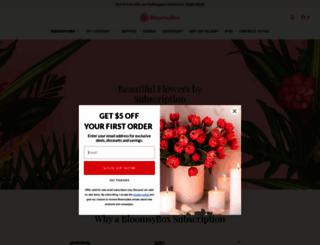 bloomsybox.com screenshot