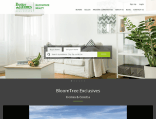 bloomtreerealty.com screenshot