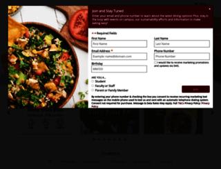 bloomu.campusdish.com screenshot