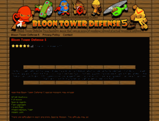 bloontowerdefense5.info screenshot