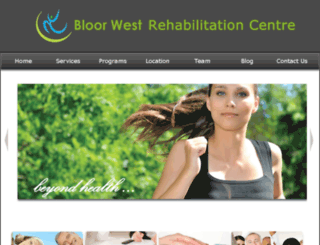 bloorwestrehab.ca screenshot