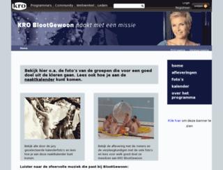 blootgewoon.kro.nl screenshot