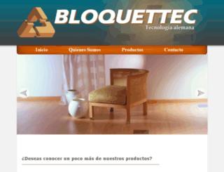 bloquettec.com screenshot